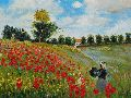 11 Poppy-Field-in-Argenteuil-Claude-Monet